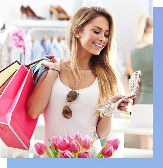 Shopping de mode